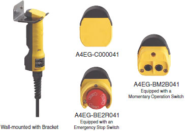 A4eg Enabling Grip Switch Features Omron Industrial