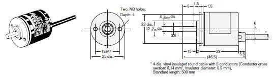 E6A2-C Dimensions 3